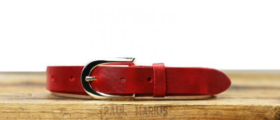 LaCeinture Magnifique - 25mm - Rouge Carmin