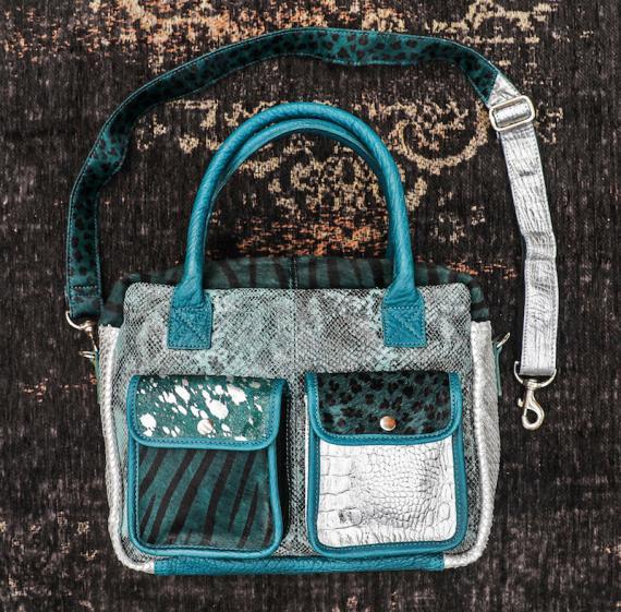 LeDandy Chimère - Bleu Piscine / Argenté