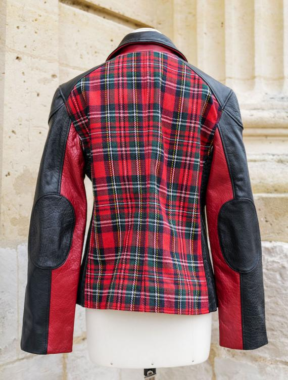 LePerfecto Tartan Rouge - Taille 36