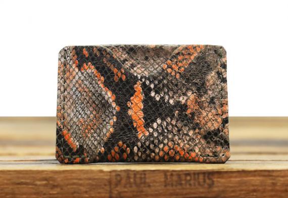 LePorte-cartes GABIN Python - Orange
