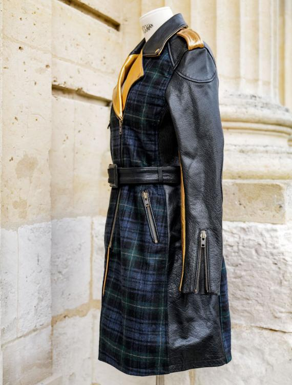 LeTrench Tartan Vert - Taille 42