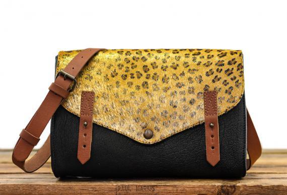 L'Indispensable Leopard - Black / Gold