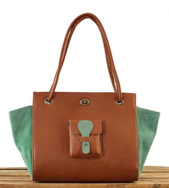 Madame. M - Light Brown / Almond Green