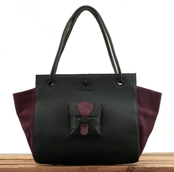 Madame. M - Noir / Prune
