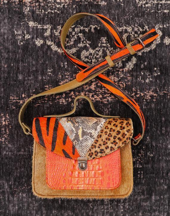 Mademoiselle George Chimera - Orange / Khaki