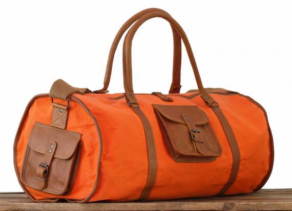 LeVoyageur XL - Toile Orange