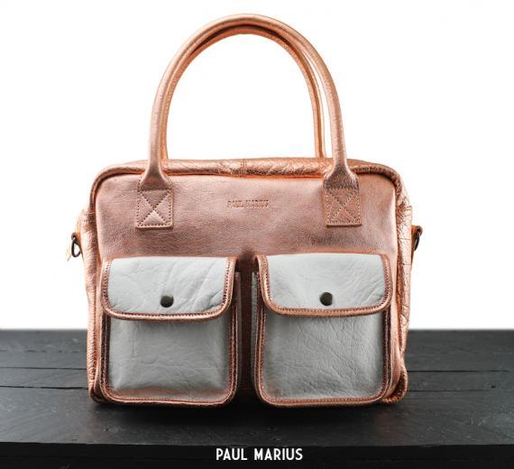 LeDandy - Or Rose / Blanc - Les sacs bandoulière - Paulmarius