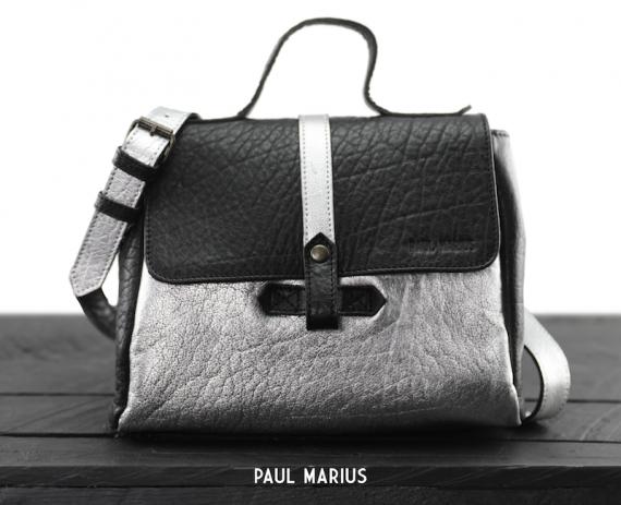 LeCorneille - Argenté / Noir - Les sacs bandoulière - Paulmarius
