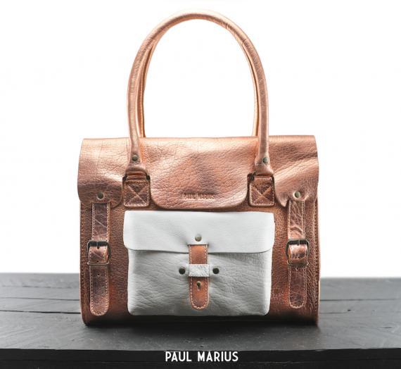 LeRive Gauche M - Rose Gold / White - - Paulmarius