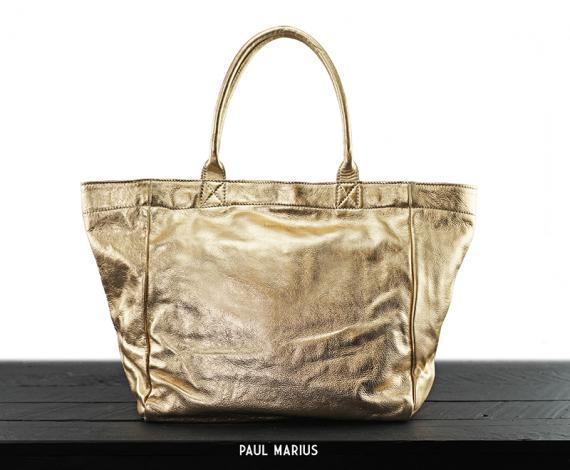 MonPartenaire M - Doré - Les sacs à main - Paulmarius