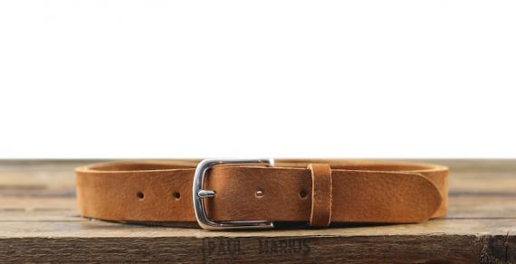 LaCeinture Magnifique Nubuck - 30mm - Braun