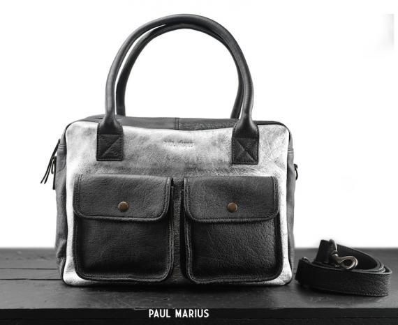 LeDandy - Argenté / Noir - Les sacs à main - Paulmarius