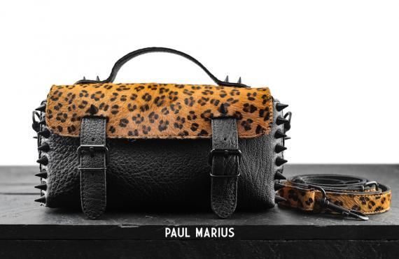 L'Artisane Léopard - Noir - Les petits modèles - Paulmarius
