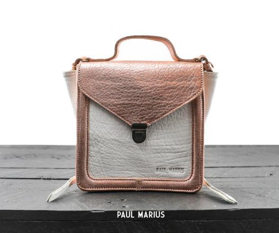 Mistinguette - Or Rose / Blanc - Les petits modèles - Paulmarius