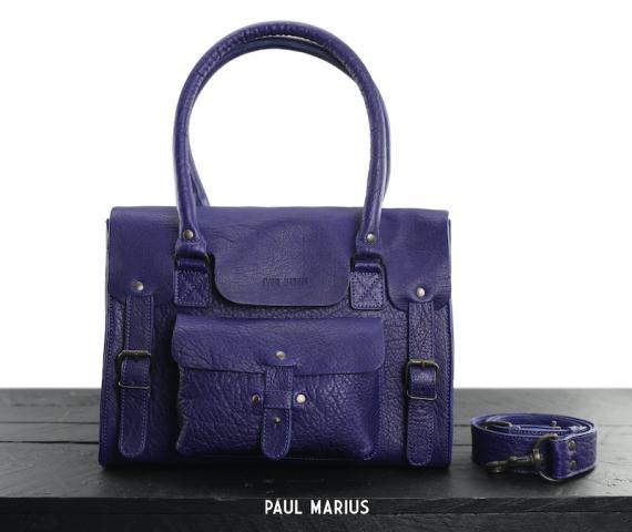 LeRive Gauche M - Bleu Egyptien - Les sacs à main - Paulmarius