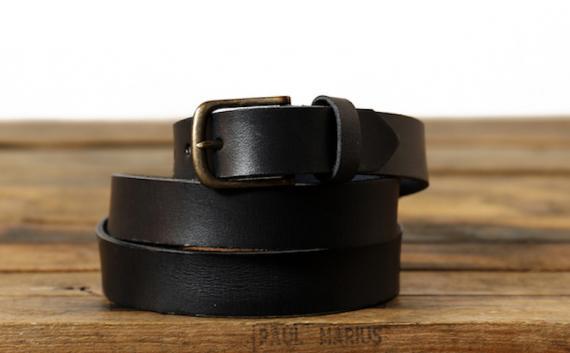 LaCeinture à Boucle - 115 cm - Noir