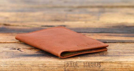 L'Étui pour Passeport - Light Brown