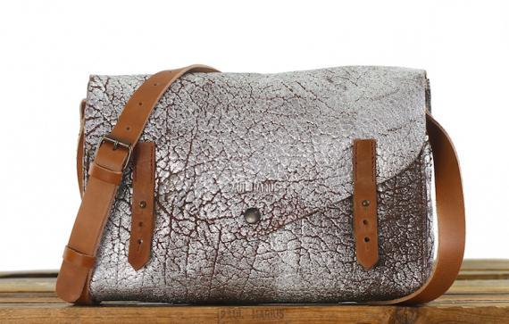 L'indispensable - Ambre Argenté - Les sacs bandoulière - Paulmarius