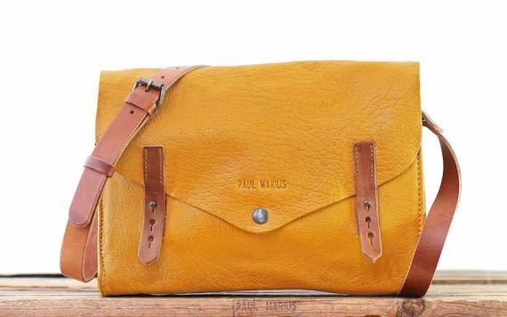 L'indispensable - Safran - Les sacs bandoulière - Paulmarius