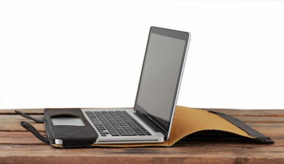 L'Étui MacBook 13 Inches - Dark Brown