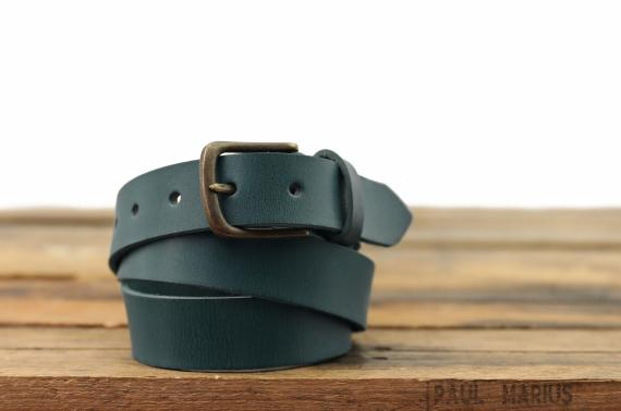 LaCeinture à Boucle - 115 cm - Bleu Piscine