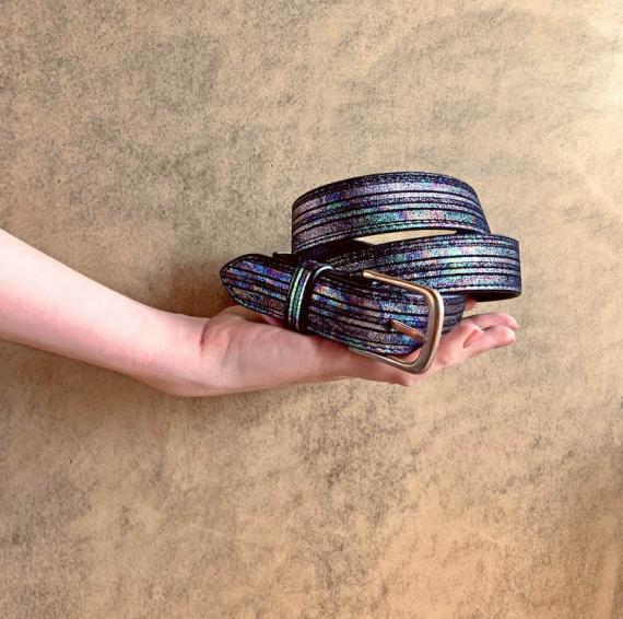 LaCeinture à Boucle - 115 cm - Holographique