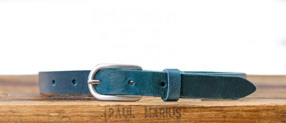 LaCeinture Magnifique - 20mm - Bleu Canard
