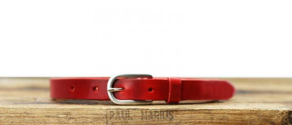 LaCeinture Magnifique - 20mm - Rouge Carmin