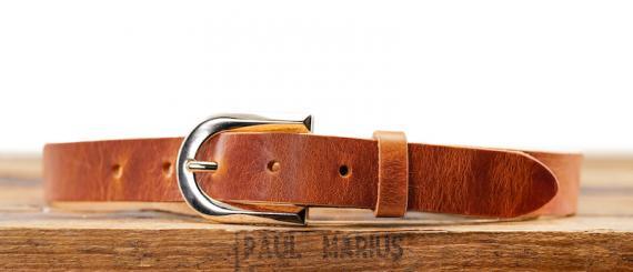 LaCeinture Magnifique - 25mm - Cognac