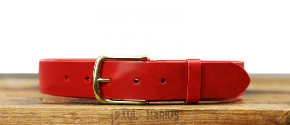 LaCeinture Magnifique - 35mm - Rouge Carmin