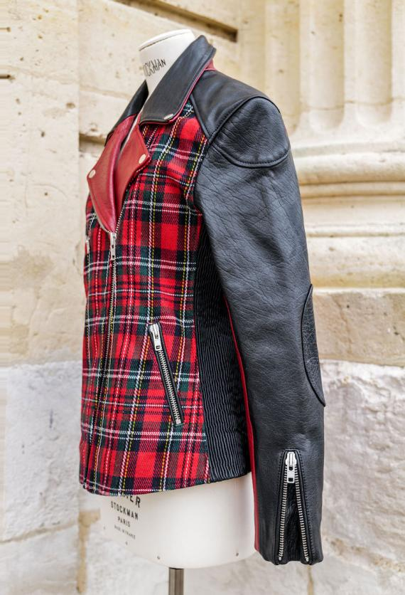 LePerfecto Tartan Rouge - Taille 38