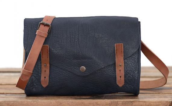 L'indispensable - Bleu Encre - Les sacs bandoulière - Paulmarius