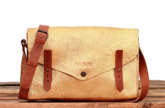 L'indispensable - Doré - Les sacs bandoulière - Paulmarius