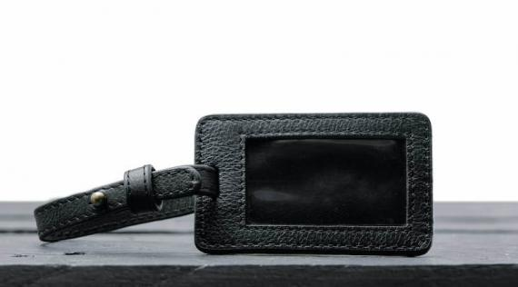 L'Étiquette Bagage Jules - Noir