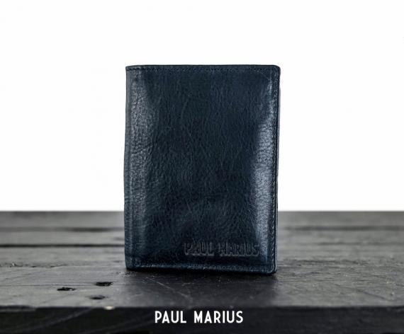 LePortefeuille Marius - Bleu Encre Huilé