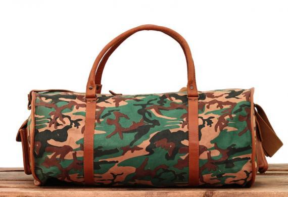 LeVoyageur XL - Canvas Camouflage