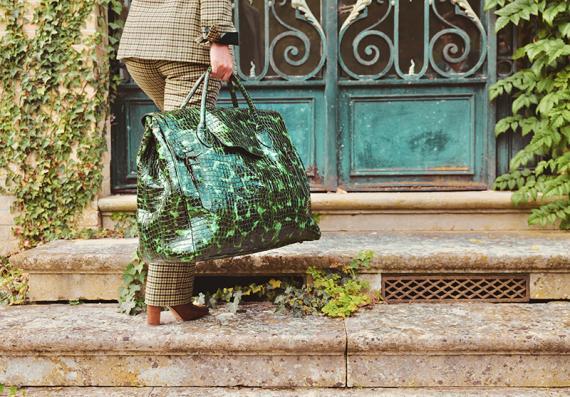 Rouen-Delhi Caiman - Emerald Green