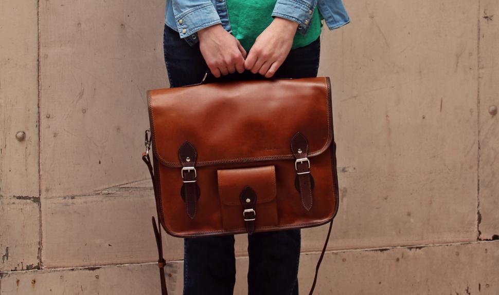 45ab50588c Paulmarius - Vente en ligne de cartables en cuir style vintage pour ...