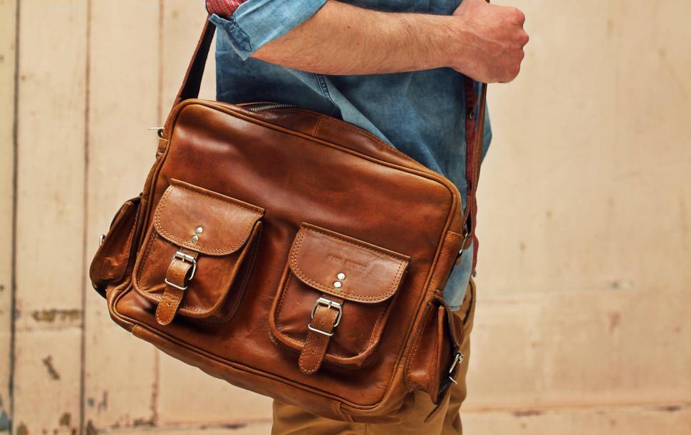 Nos sacoches en cuir pour homme de style vintage