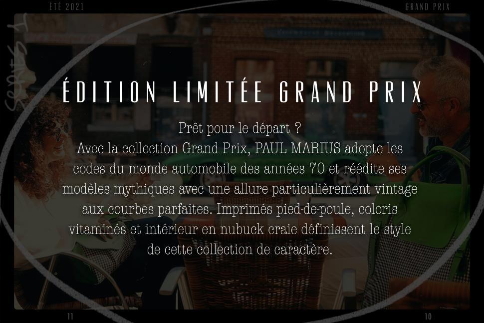 LA COLLECTION GRAND PRIX - ÉDITION LIMITEE