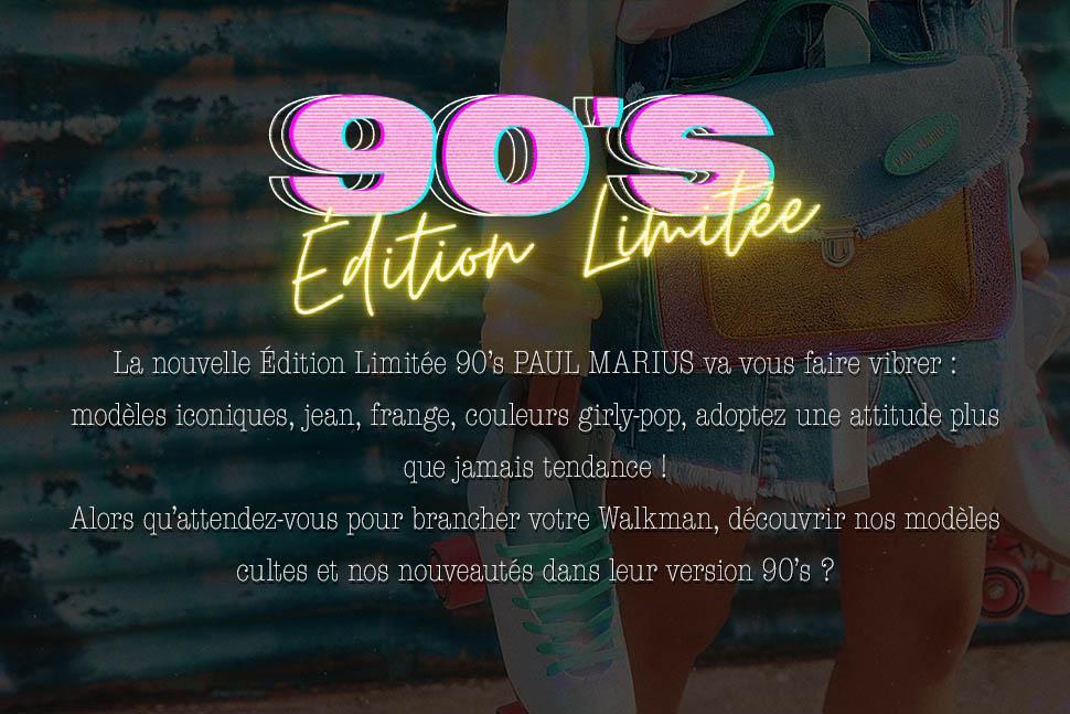LA COLLECTION 90's - EDITION LIMITEE
