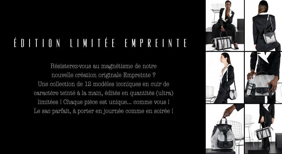 LA COLLECTION EMPREINTE - ÉDITION LIMITÉE