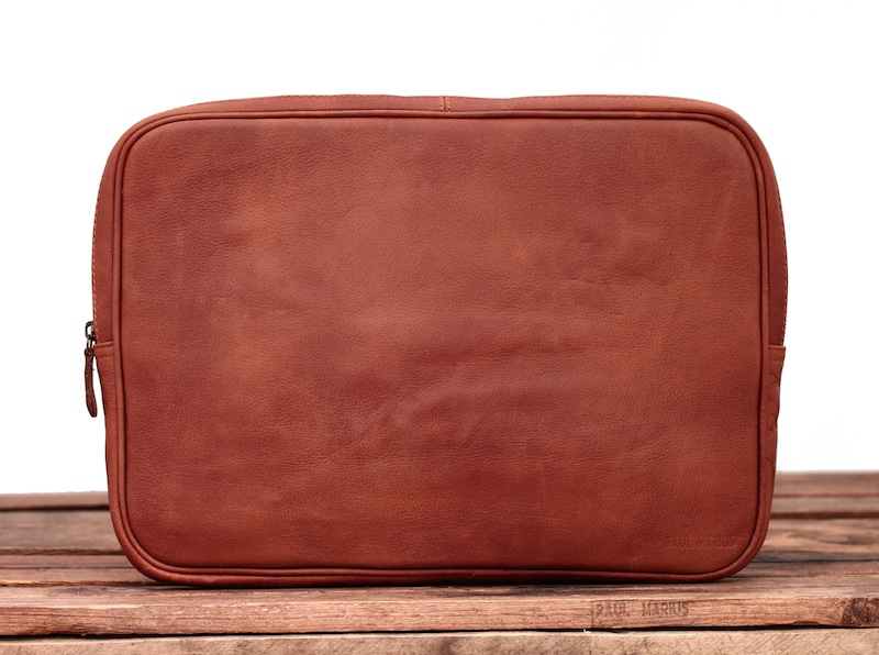 Laptop Case - Light Brown - 15 inches